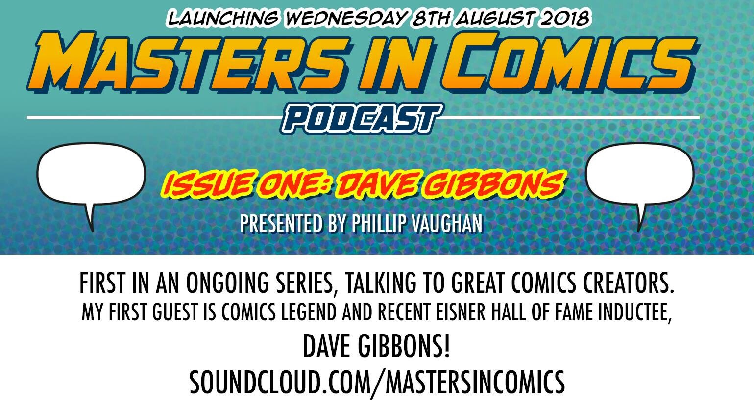 Masters in Comics Podcast Promtioonal Image
