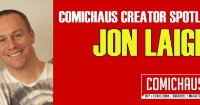 Comichaus Spotlight - Jon Laight