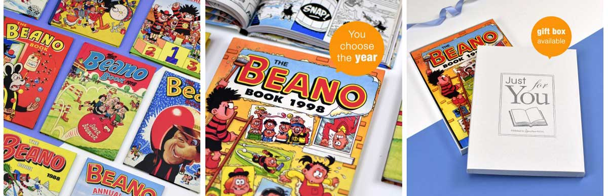 The Beano Annual From Your Year - Signature Gifts