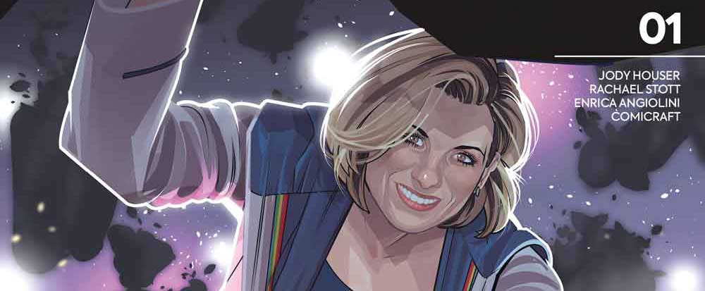 Doctor Who: The Thirteenth Doctor #1 - Cover D by Rachael Stott SNIP