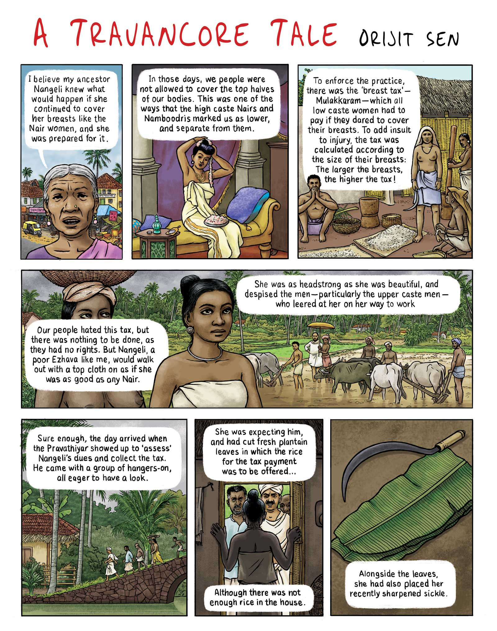 Travancore Tale by Orijit Sen