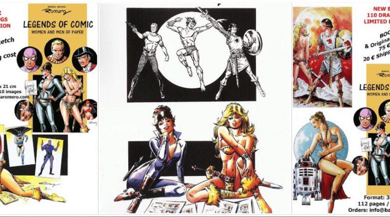Legends of Comic Women and Men of Paper By Enric Badia Romero