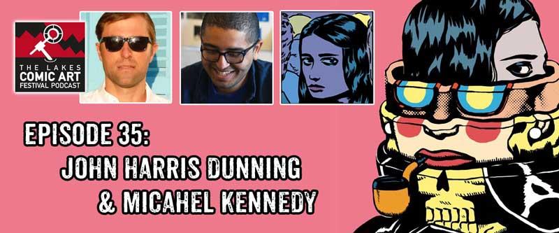 Lakes International Comic Art Podcast Episode 35