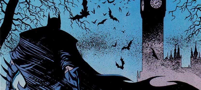 Detective Comics #590 - Norm Breyfogle snip