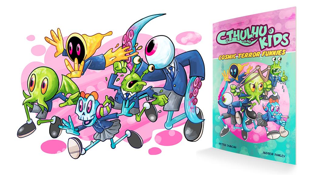 Cthullu Kids - Banner