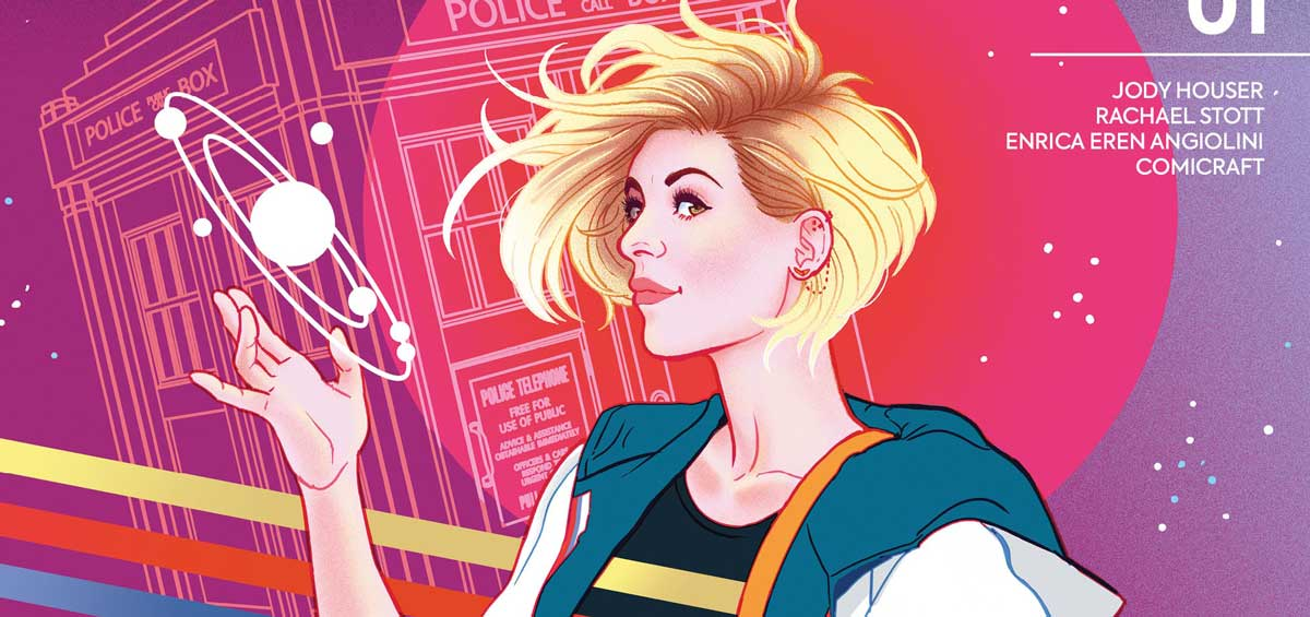 Doctor Who - The Thirteenth Doctor #1 Cover F - Paulina Ganucheau - SNIP
