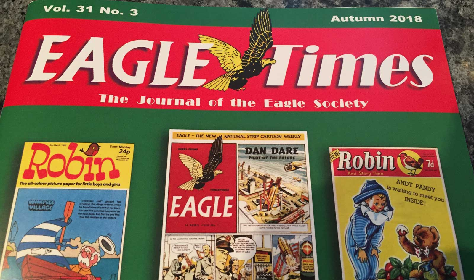 Eagle Times v.31 no.3 (Autumn 2018) SNIP