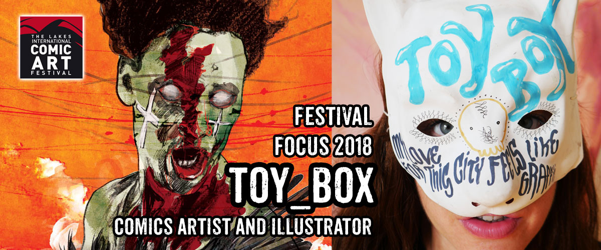 Lakes Festival Focus 2018: Czech Comic Creator Toy_Box
