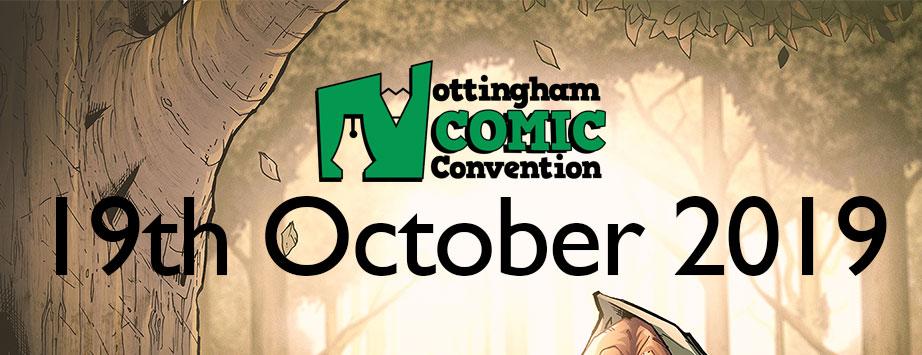 Nottingham Comic Convention 2019