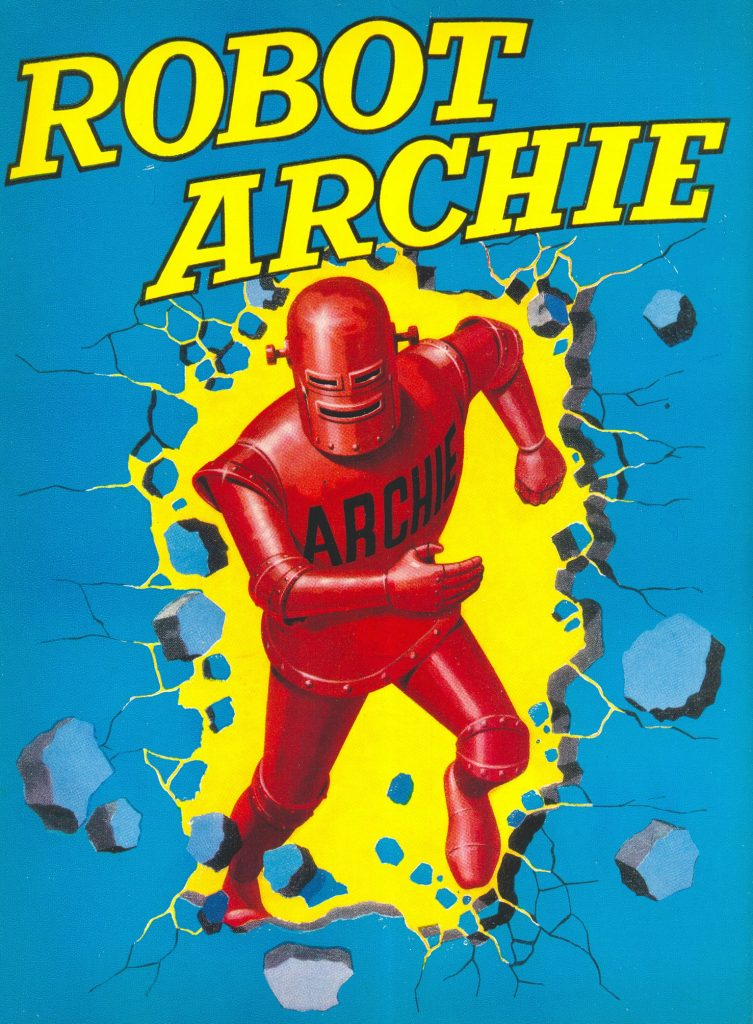 Robot Archie Annual 1964