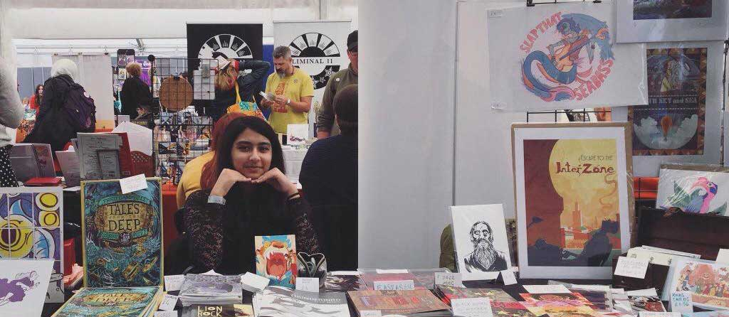 Thought Bubble 2018 - Shazleen Khan - SNIP
