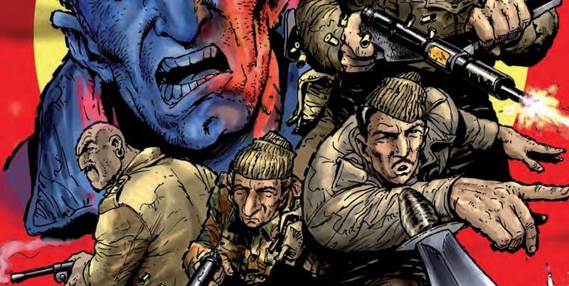 Sniper Elite - Resistance #3 - Variant Cover by Carlos Ezquerra SNIP