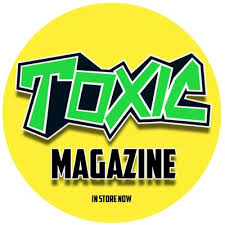 TOXIC Comic Badge