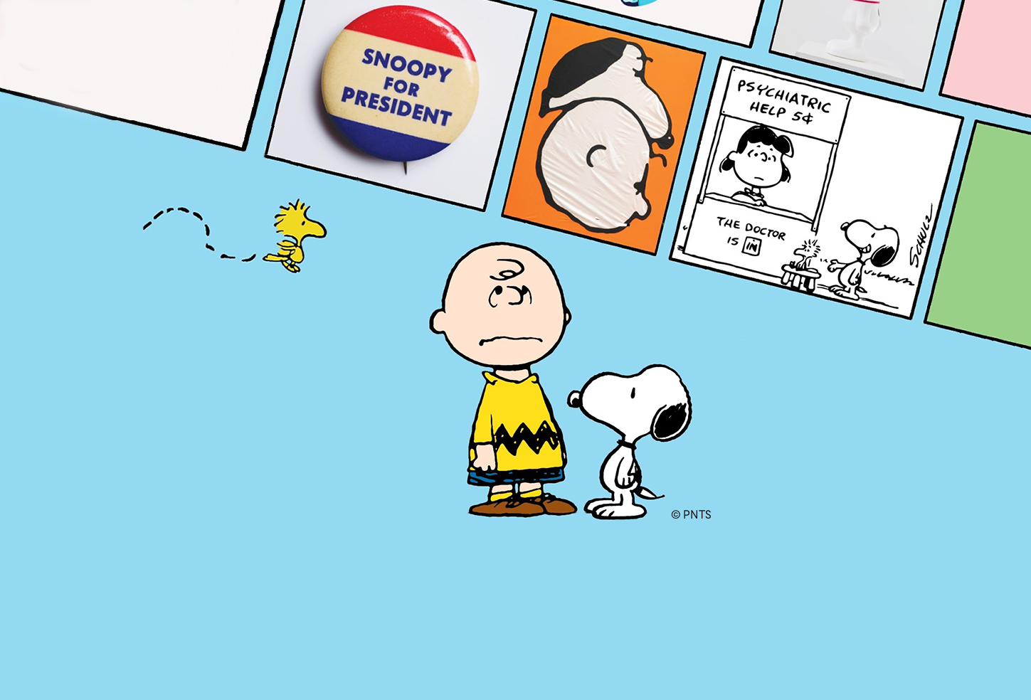 Good Grief, Charlie Brown - Somerset House Exhibition Promo © Peanuts