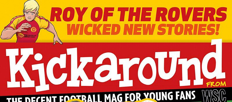 Kickaround Issue 6 - Cover SNIP