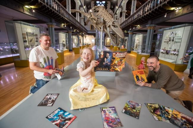 Glasgow's Hunterian is to host comics-themed Night at the Museum. Photo: Martin Shields /University of Glasgow PR)