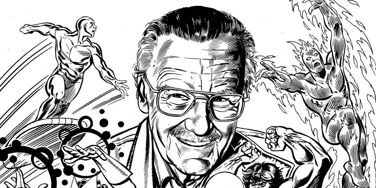 Stan Lee by David Roach