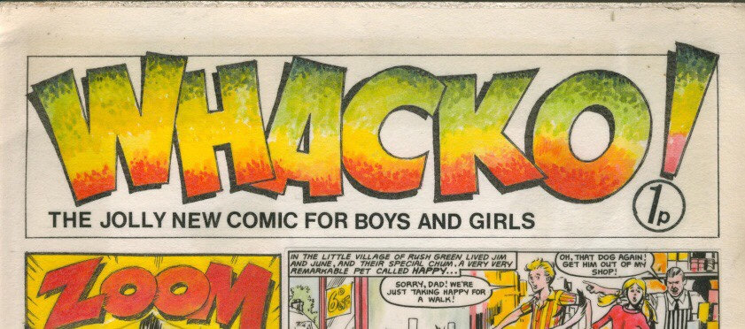 Whacko! Custom Comic (1970s) SNIP