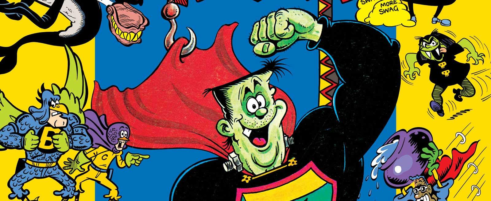 The Treasury of British Comics Presents Funny Pages FCBD 2019 SNIP