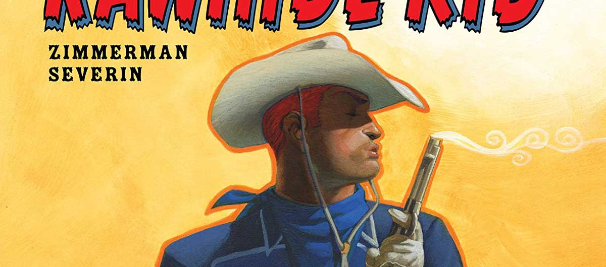 Rawhide Kid - Slap Leather Cover SNIP Cover by Dave Johnson