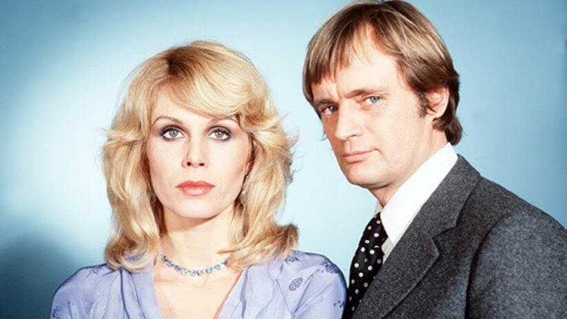 Joanna Lumley and David McCallum as Sapphire and Steel. Photo: ITV Studios