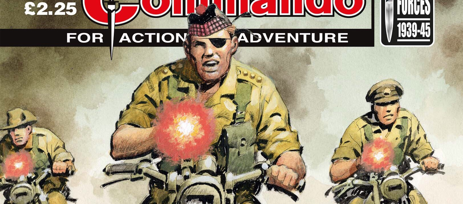 Commando 5197: Action and Adventure: Ramsey's Raiders: Race Against Time SNIP