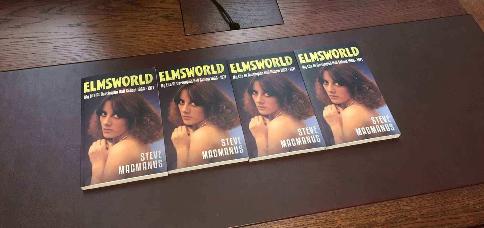 Elmsworld by Steve MacManus. Cover photo of Susan by Steve Cook. Font used by kind permission of Rian Hughes, book design by Ryan Gale