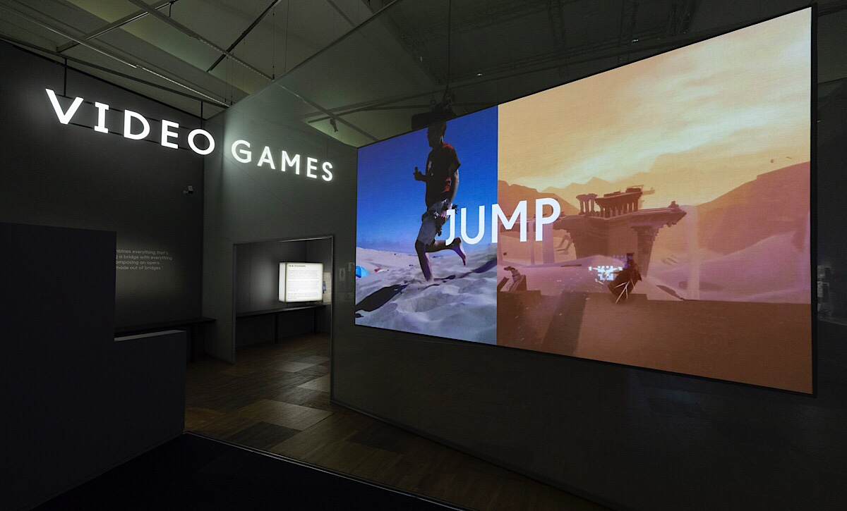 Videogames: Design/Play/Disrupt Exhibition