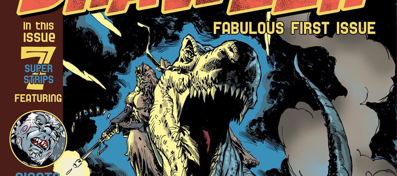 Brawler #1 Cover - Time Bomb Comics SNIP