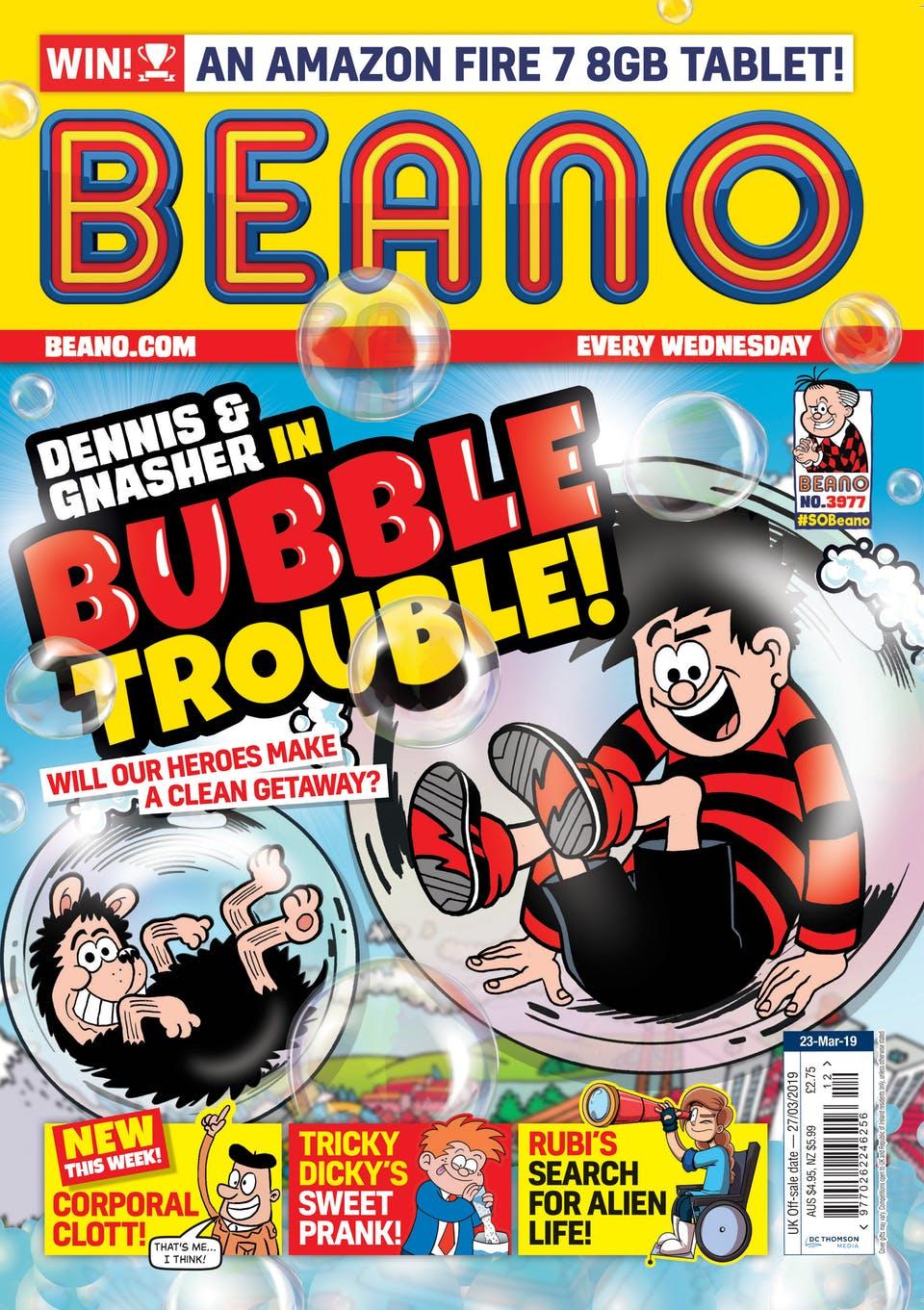 Beano 3977 - Cover
