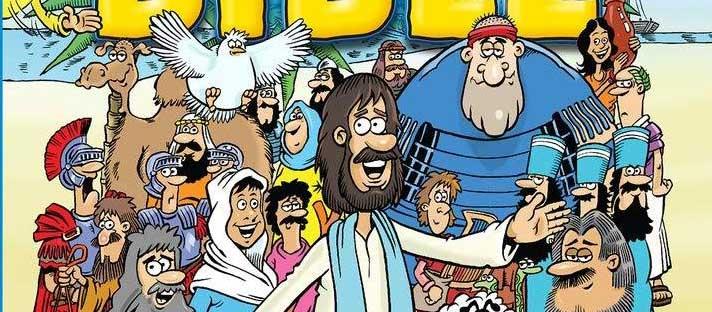 Lion Kids Comic Bible - Cover SNIP