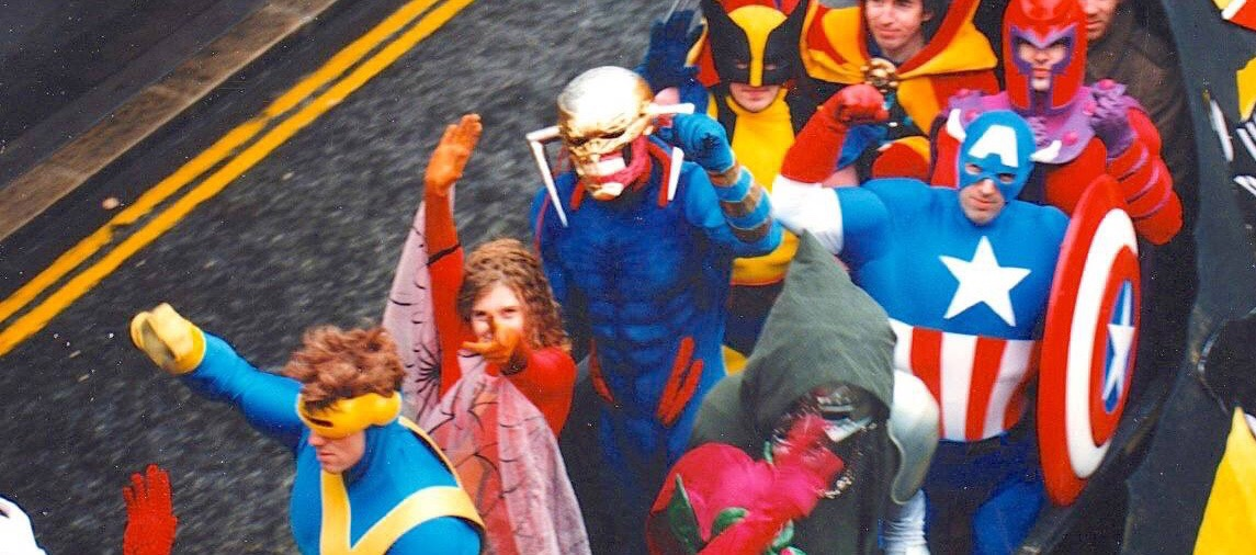 The Avengers - Marvel UK - Lord Mayor's Parade 1993 SNIP