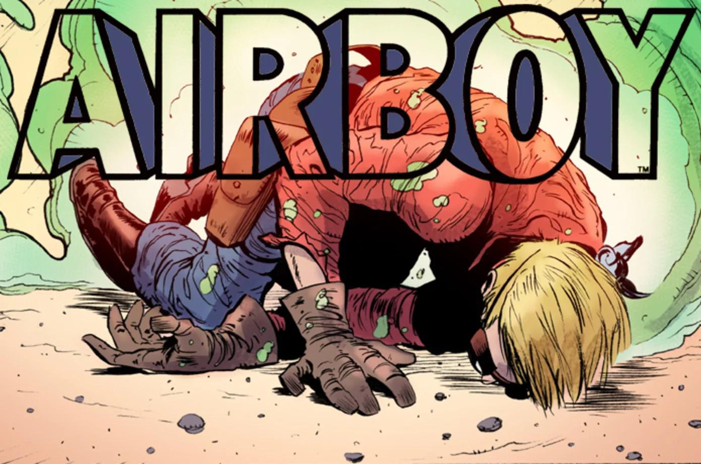 Airboy #51 - Promo
