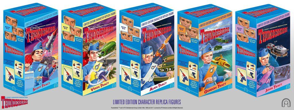 BIG Chief Studios Thunderbirds Tracy Brothers Box Art