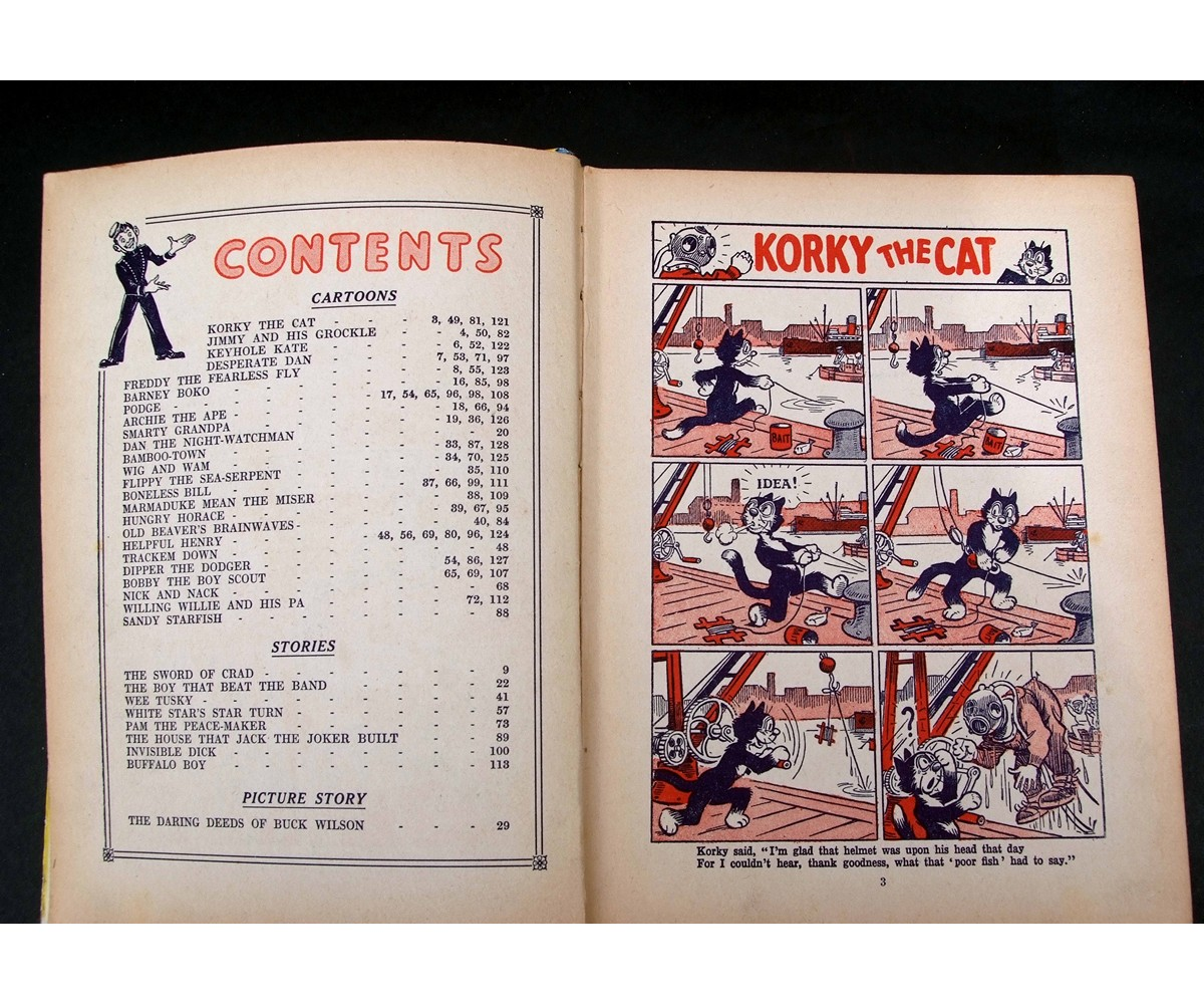 1939 Dandy Monster Comic