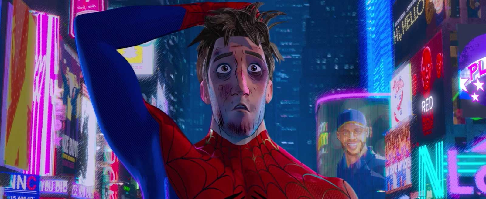 Official Film Chart - Spider-Man Into The Spider-Verse