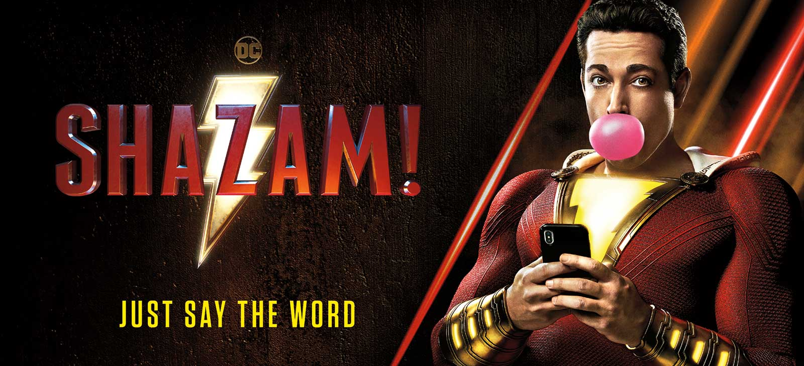 Shazam! Movie Poster 2019 SNIP