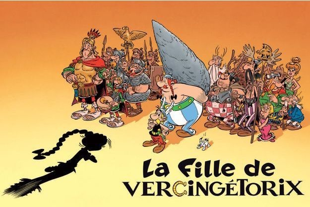 """A promotional image for """"Asterix and the Chieftain's Daughter"""". Image: Albert René editions (French Edition)"""