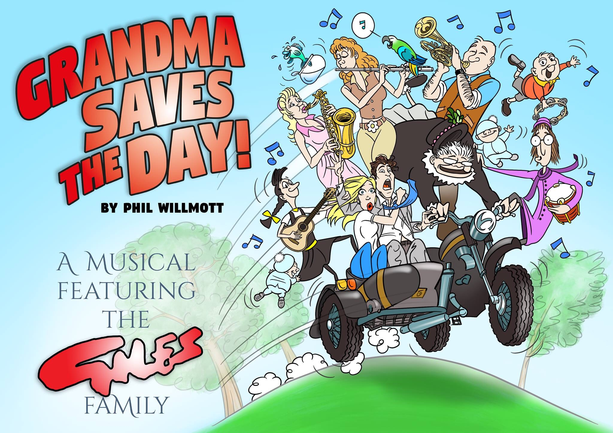 Grandma Saves the Day! A Musical About the Giles Family Poster