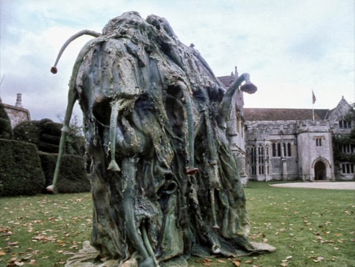 Promotional image for Athelhampton House, location for Doctor Who: The Seeds of Doom. Image: BBC