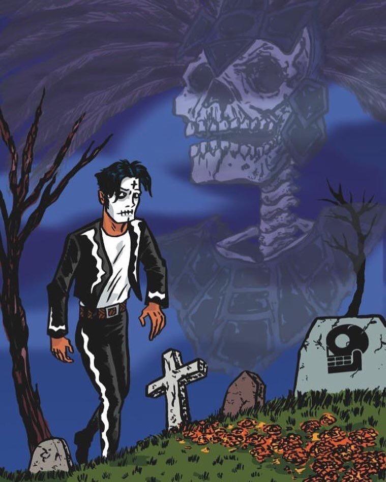 Happy Birthday, Javier Hernandez, creator of El Muerto: The Aztec Zombie!