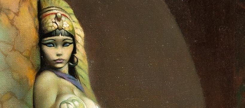 Egyptian Queen by Frank Frazetta SNIP