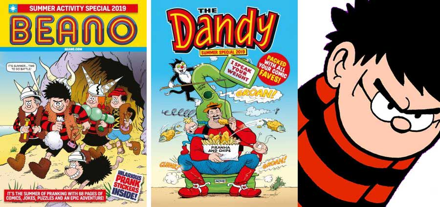 Beano Summer Activity Special and Dandy Summer Specials 2019
