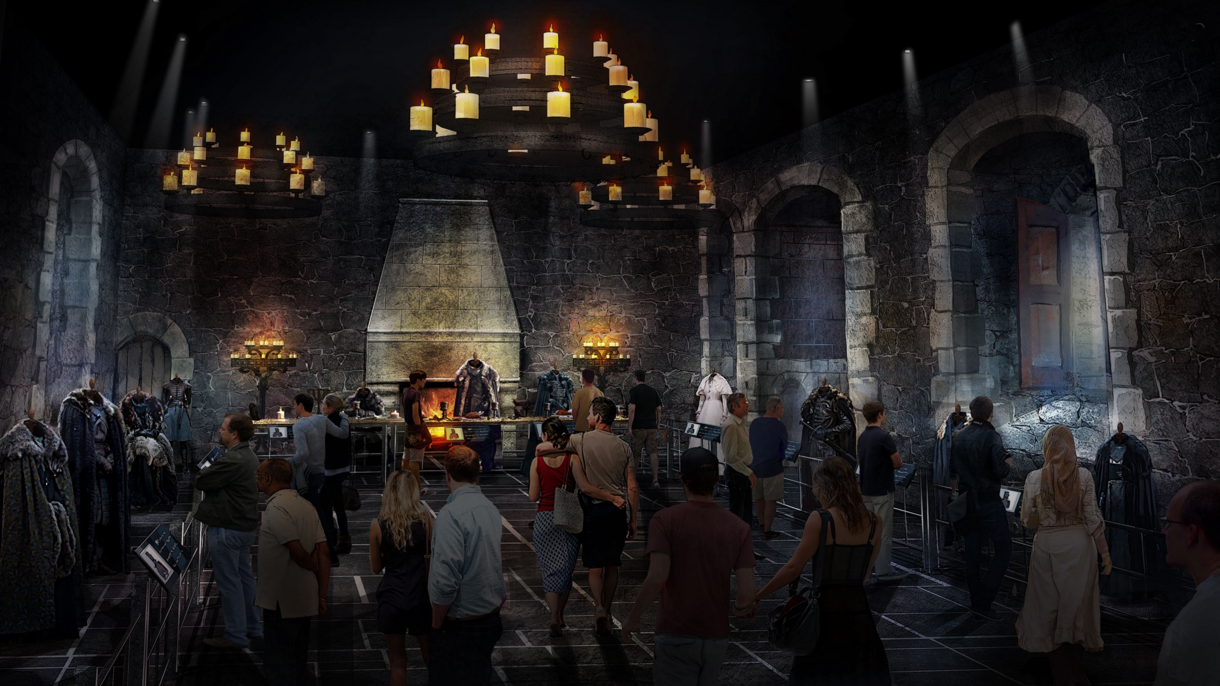 Winterfell, as seen in Game of Thrones. Credit: Home Box Office, Inc.