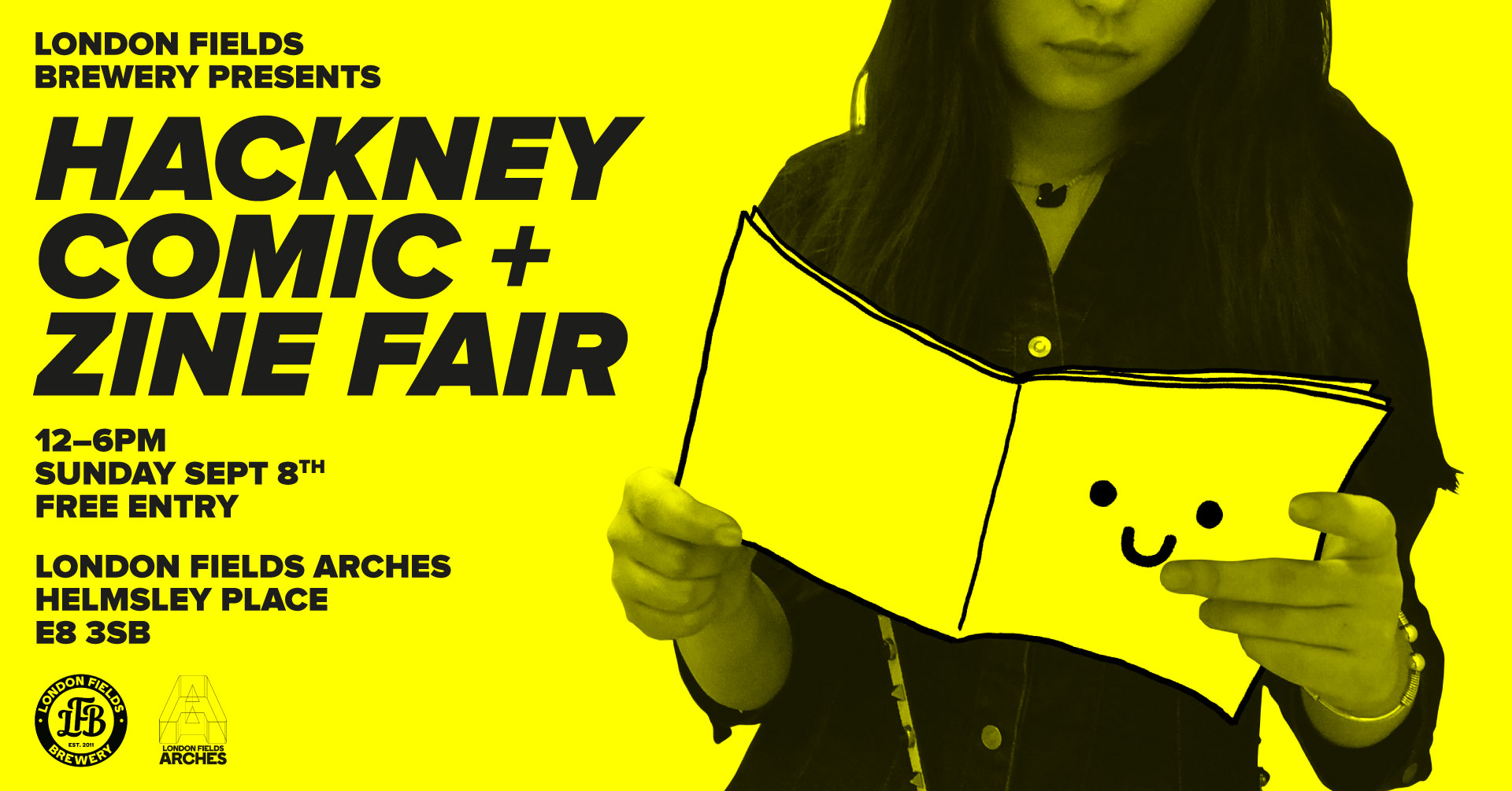Hackney Comic + Zine Fair 2019