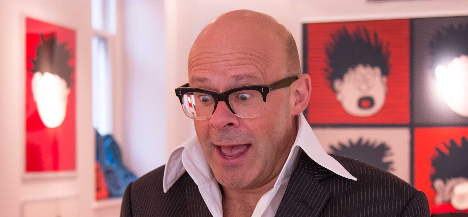 Harry Hill. Image courtesy Beano Studios
