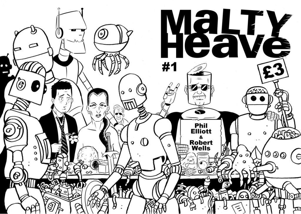 Malty Heave #1 Cover