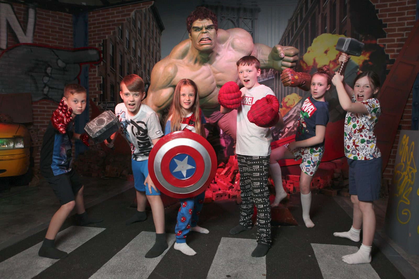 Madame Tussauds Blackpool's Marvel Super Hero Sleepover 2019