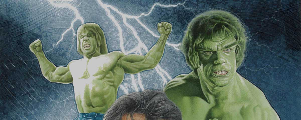 INFINITY Issue 20 Cover - The Incredible Hulk by Pete Wallbank SNIP