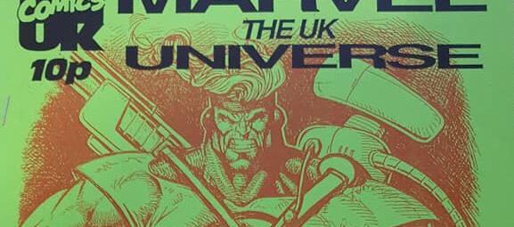 United Kingdom Comic Art Convention Marvel UK Booklet Cover SNIP